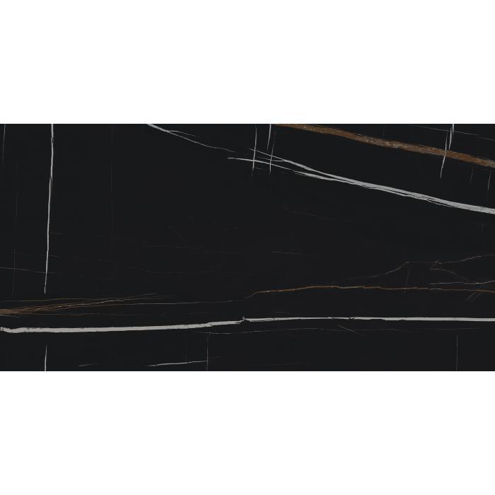 Текстура плитки Шарм Делюкс Сахара Нуар 80x160 Рет