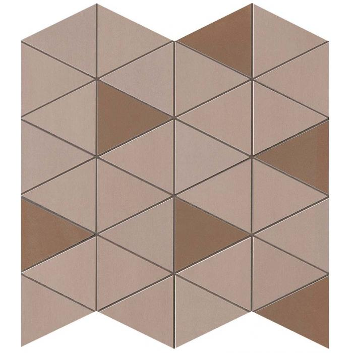 Текстура плитки Mek Rose Mosaico Diamond Wall 30,5x30,5