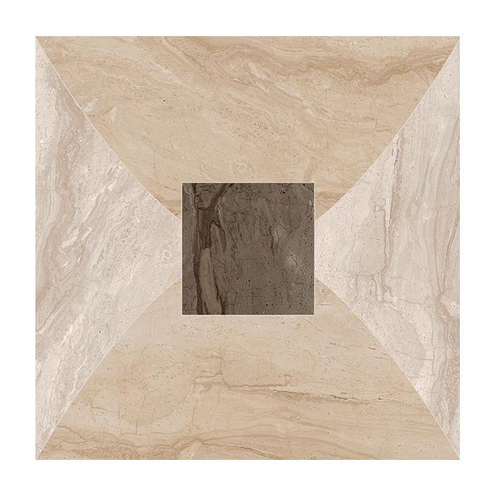 Текстура плитки Венеция Вставка Сан Марко Лапп. Ретт 45x45