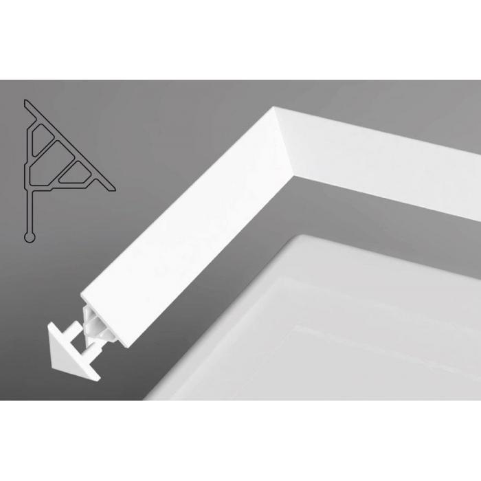 Фото сантехники Ravak Декоративная планка для ванн 2м, цвет белый