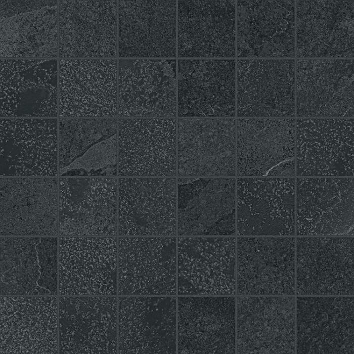 Текстура плитки Материя Титанио Мозаика Патт. 30x30