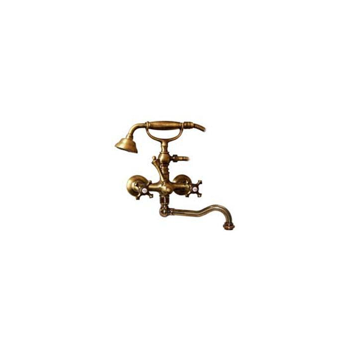 Фото сантехники Prestige Смеситель для ванны внешний с поворотным изливом, цвет бронза