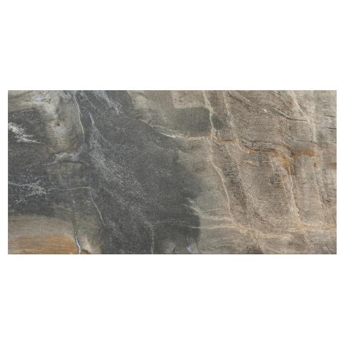 Текстура плитки Fossil Blue Lap Rett 40x80