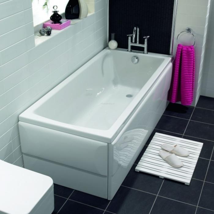 Фото сантехники Neon Фронтальная панель 170 см для ванны, цвет белый - 2