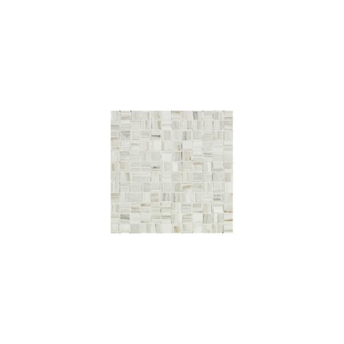 Текстура плитки Marmi Imperiali Mosaico White 30x30