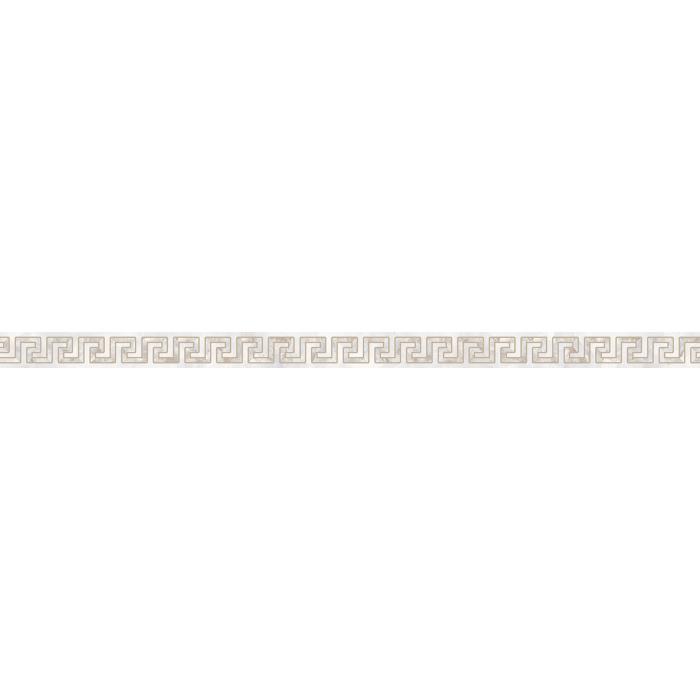 Текстура плитки Emote Listello Onice Bianco 4x78