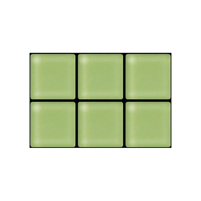 Изображение Color Palette Мозаика стеклянная глянцевая A-045 2,58х2,58