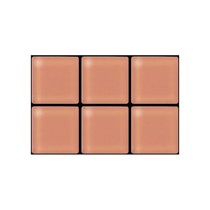 Изображение Color Palette Мозаика стеклянная глянцевая A-074 (B-074) 2,58х2,58