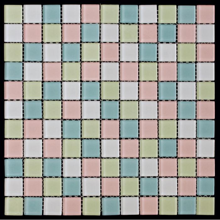Изображение Color Palette Мозаика стеклянная глянцевая CPM-58 (CPM-158; KA-158) 2,58х2,58