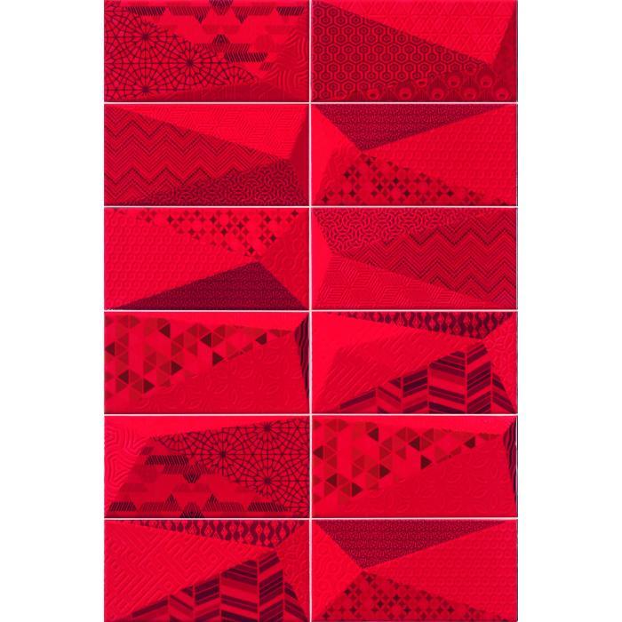 Текстура плитки Fancy Rubi 10x20