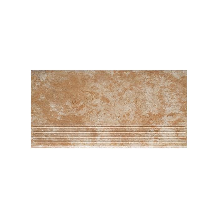 Текстура плитки Ilario Ochra Stopnica 30x60
