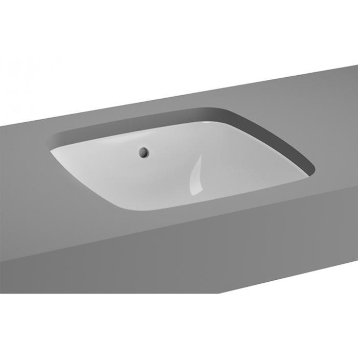 Фото сантехники Metropole Раковина встраиваемая под столешницу 370х370, цвет белый