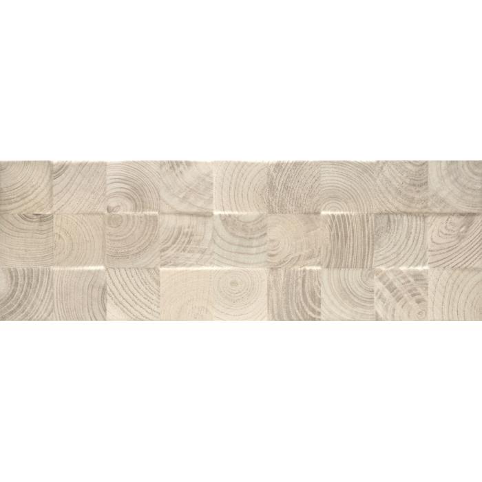 Текстура плитки Daikiri Beige Kostki Struktura 25x75