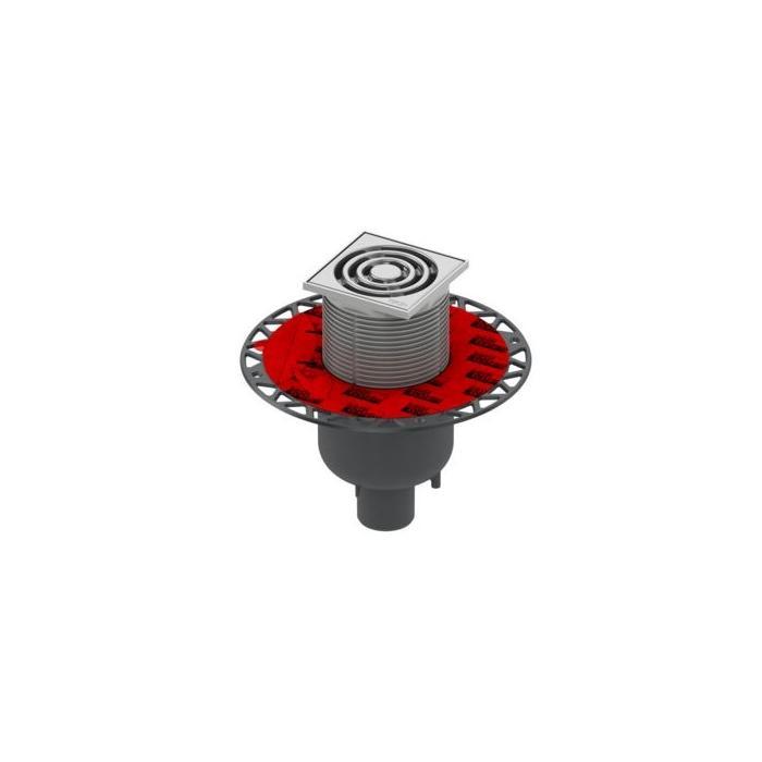 Фото сантехники Трап drainpoint S120, трап вертикальный с универсальным фланцем Seal System