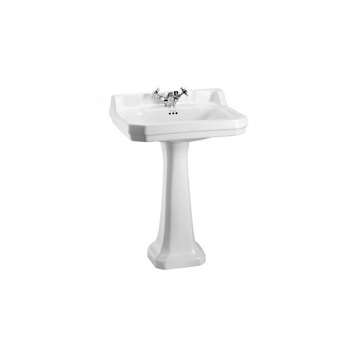 Фото сантехники Edwardian Раковина 61х51 см с 1 отверстием, цвет белый