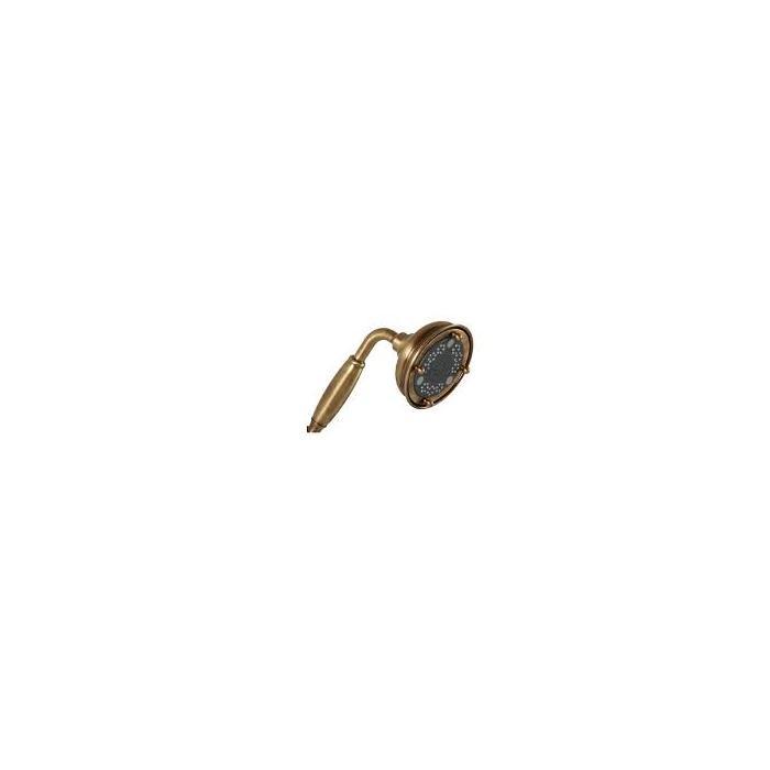 Фото сантехники Ricambi Ручной душ 3-х позиционный, бронза,ручка металл