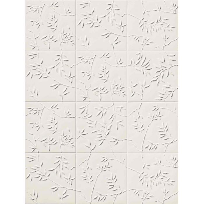 Текстура плитки 4D Nature White 20x20