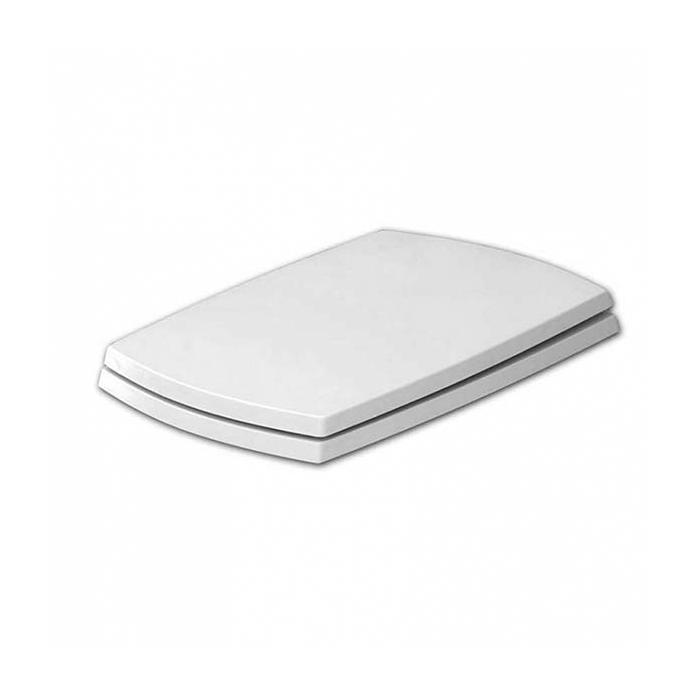 Фото сантехники Jazz Сиденье для унитаза белое,бронза (микролифт)