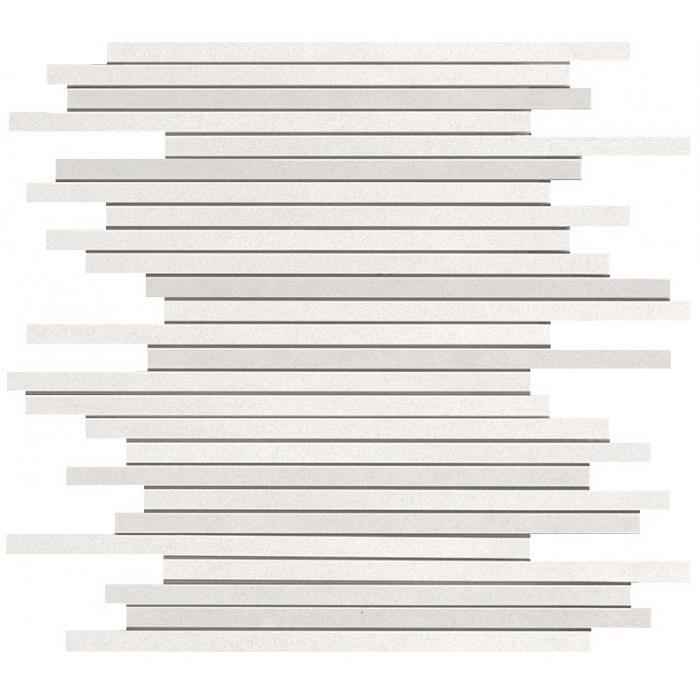 Текстура плитки Dwell Off White Mosaic L (1х26) 26x30.5