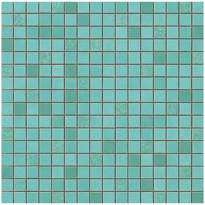 Текстура плитки Dwell Turquoise Mosaic Q (1,7х1,7) 30.5x30.5