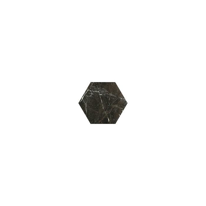 Текстура плитки Tosi Brown Hexagon Poler 17.1x19.8