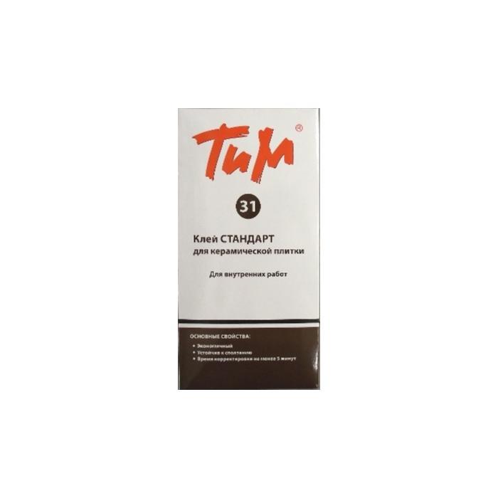 Строительная химия ТиМ №31 стандарт для плитки внутри помещений
