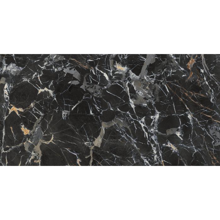 Текстура плитки Laurent Black/75,5x151/EP 75,5x151
