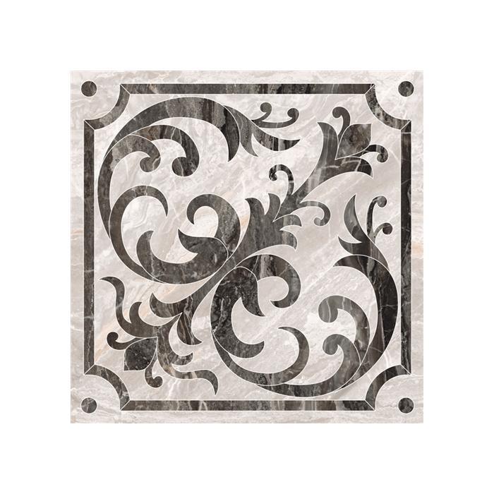 Текстура плитки Bergamo Теплая Гамма Классический Микс Декор Лаппато 60x60