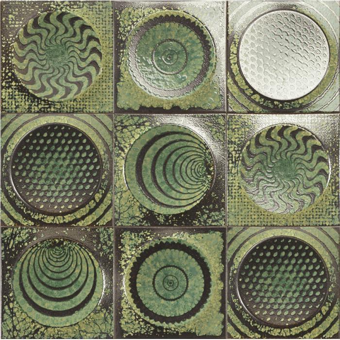 Текстура плитки Shape Emerald 20x20