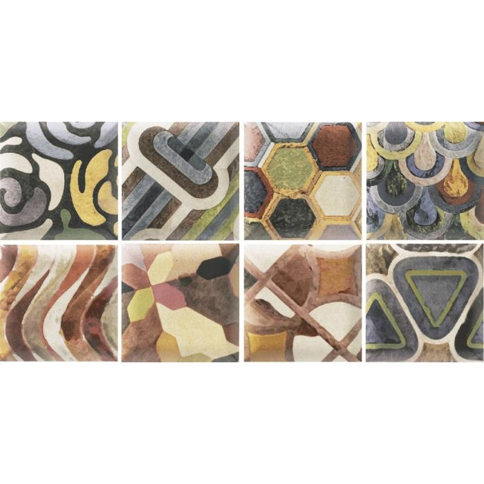 Текстура плитки Decor Tap Tap 15x15