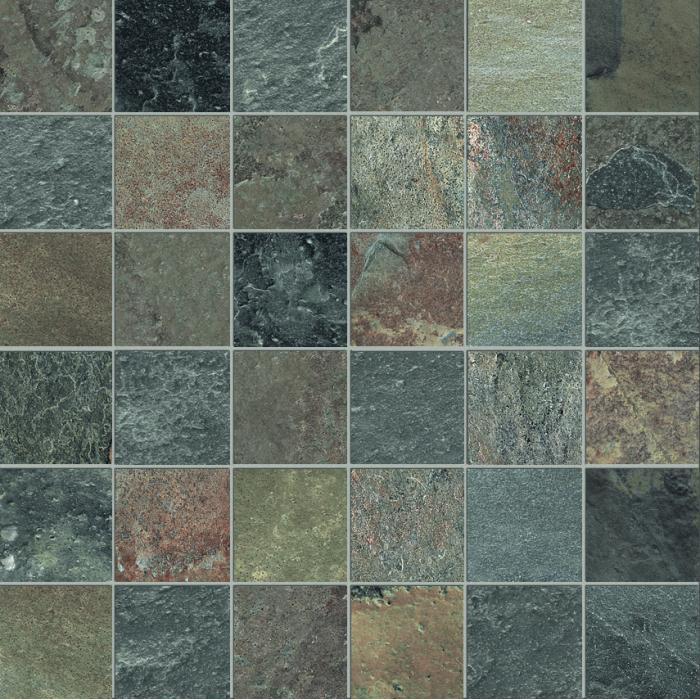 Текстура плитки High Line Mosaico Liberty Lap Ret (5x5) 30x30