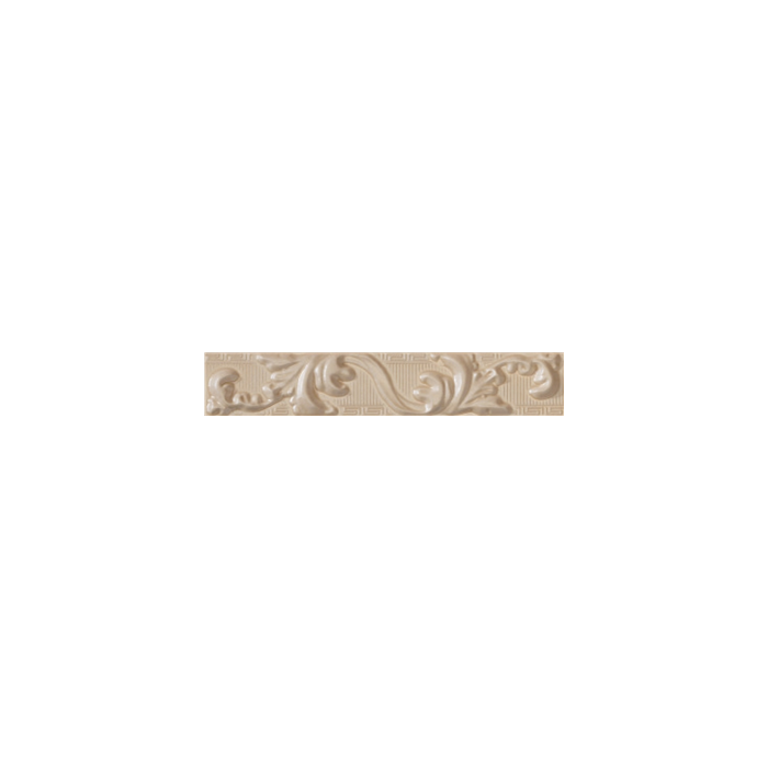 Текстура плитки Palace Fascia Foglia Cream 7x39.4