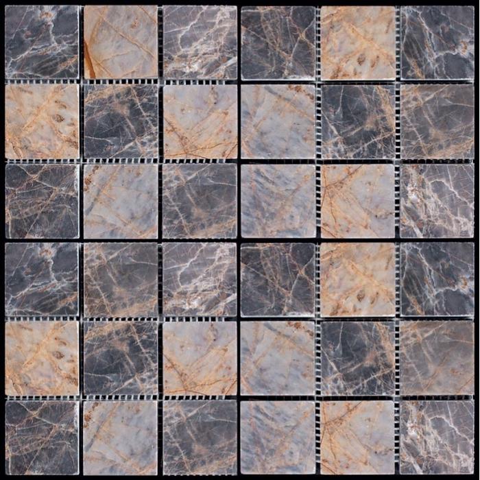 Изображение Adriatica Мозаика Mраморная Полированная M024-48P (M022B-48P) 4.8х4.8