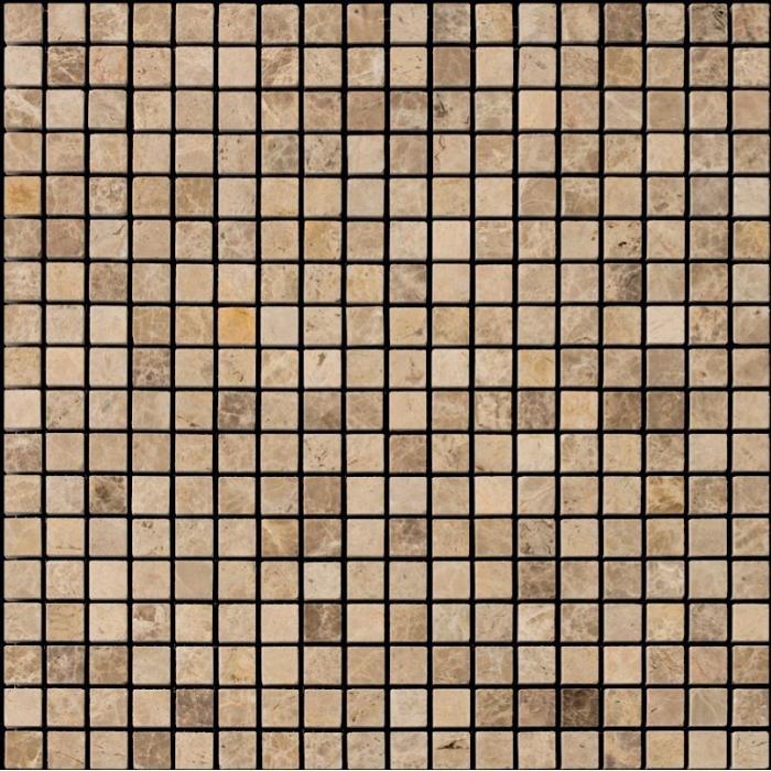 Изображение Adriatica Мозаика Mраморная Полированная M036-15P (M036-FP)1,5х1,5