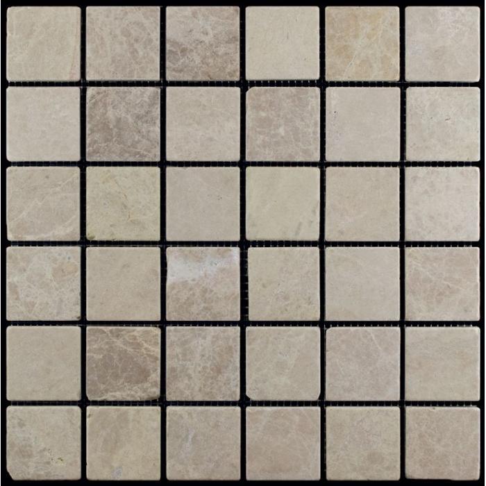 Изображение AdriaticaМозаика из мрамора Cостаренная M036-48T  4.8х4.8