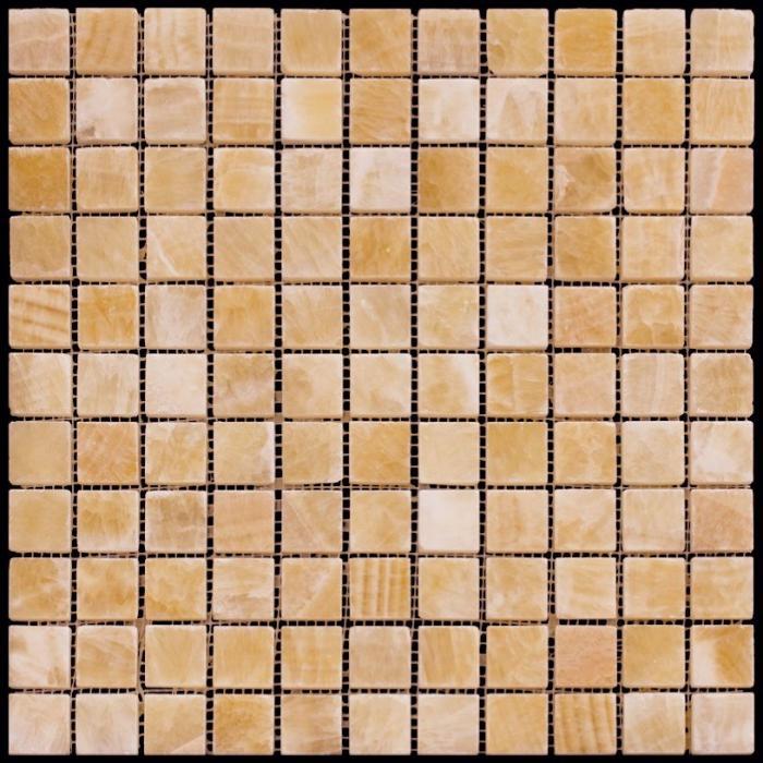 Изображение Adriatica Мозаика Mраморная Полированная M073-25P (M073-GP) 2.5х2.5