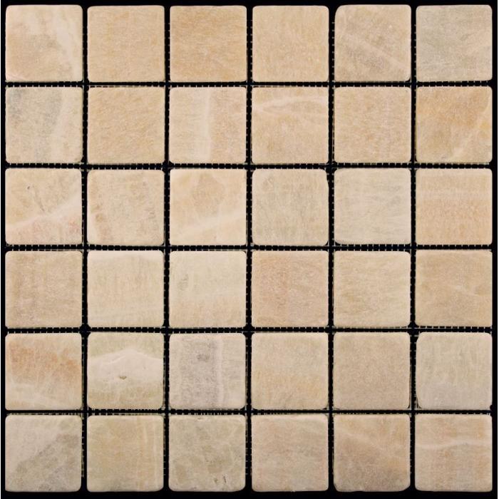 Изображение AdriaticaМозаика из мрамора Cостаренная M073-48T 4.8х4.8