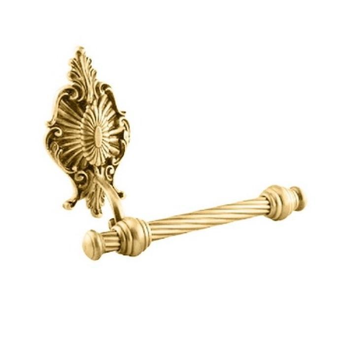 Фото сантехники Elisabetta Бумагодержатель открытый, цвет золото