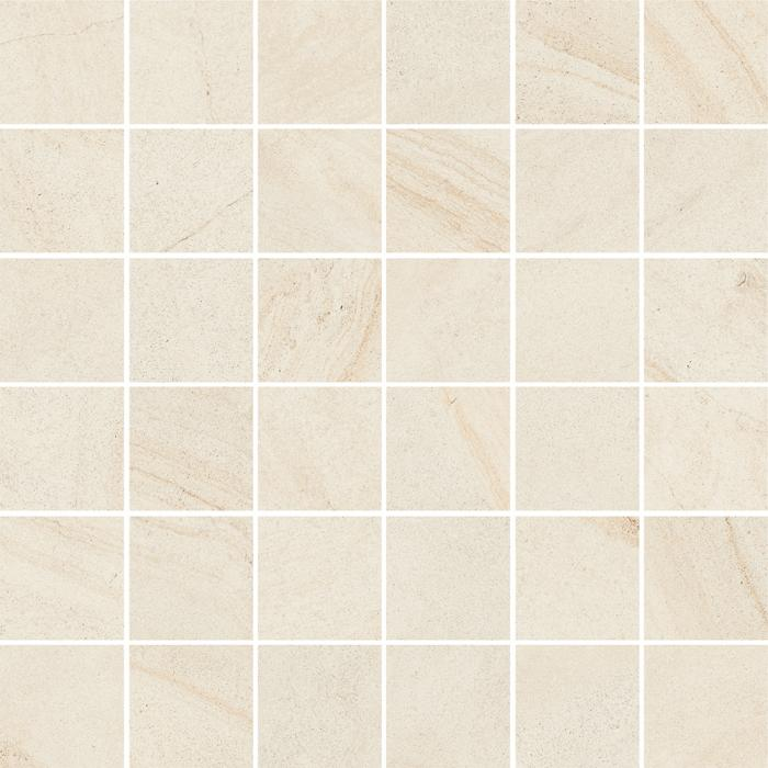 Текстура плитки Рум Уайт Мозаика 30x30