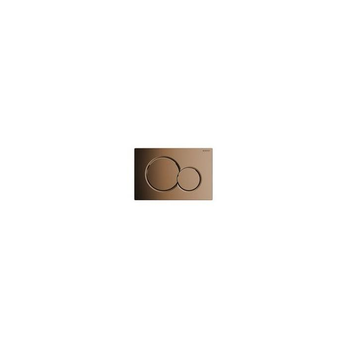 Фото сантехники Sigma 01 Смывная клавиша, цвет латунь