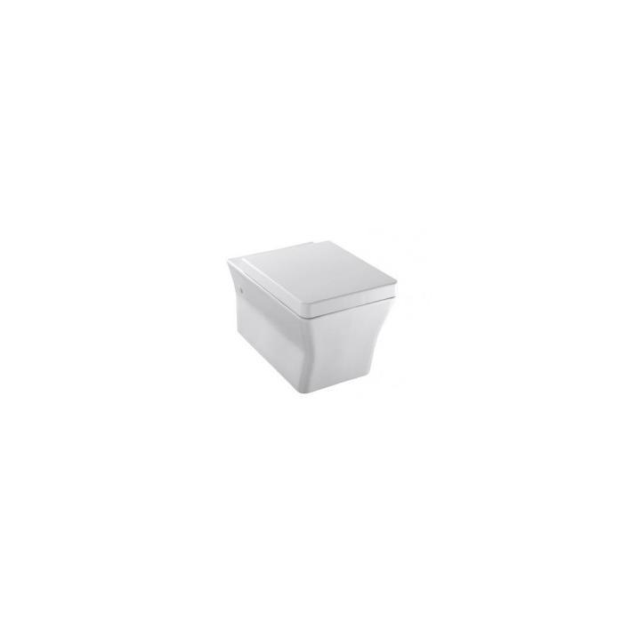 Фото сантехники Reve Унитаз подвесной 56x36,5см. в комплекте с сиденьем с микролифтом, цвет белый