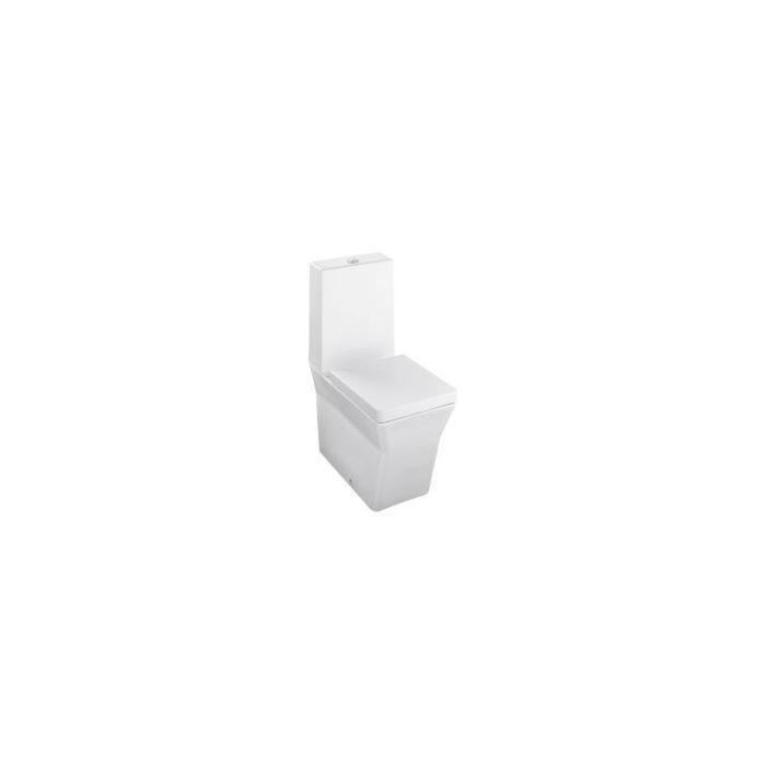 Фото сантехники REVE Чаша унитаза 67x36,5 см, полное прилегание к стене, сидение с микролифтом, цвет белый - 2
