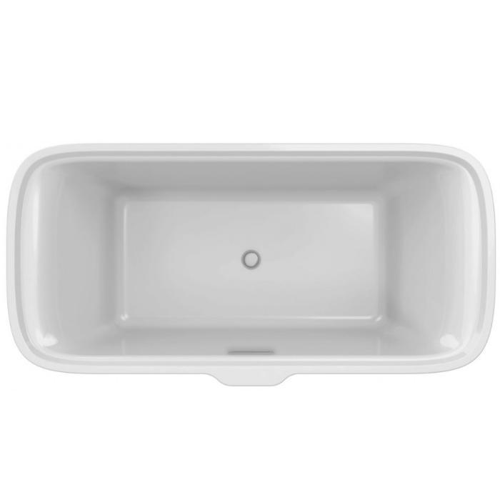 Фото сантехники Прямоугольная отдельностоящая ванна 180х85 см из материала Flight