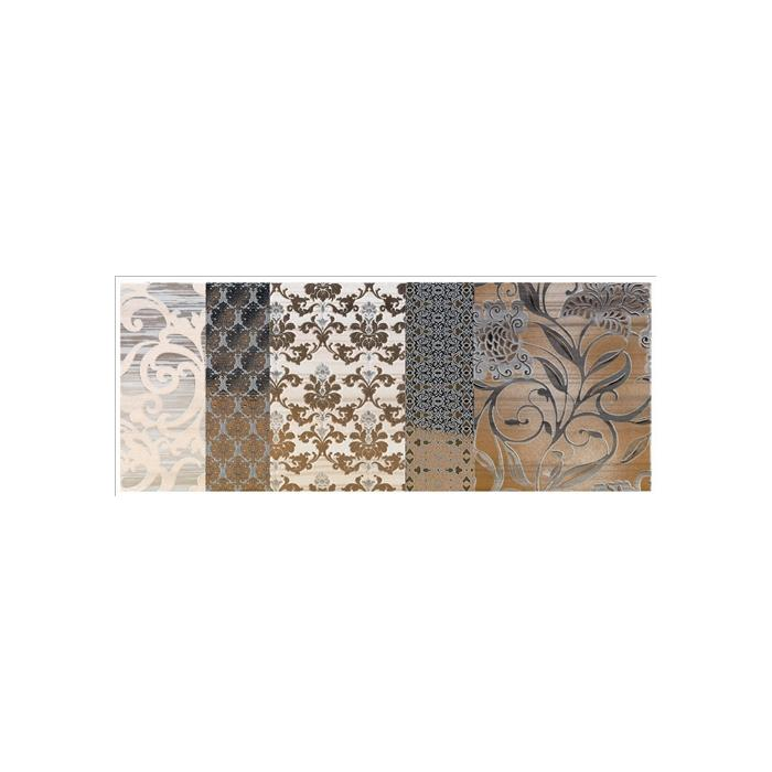 Текстура плитки Shine Oro Batic Dec.A 24x59 - 2