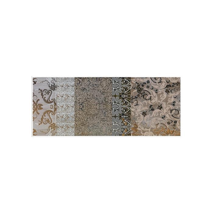 Текстура плитки Shine Oro Batic Dec.B 24x59 - 2