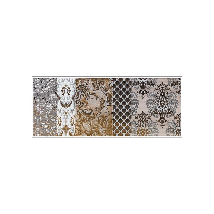 Текстура плитки Shine Oro Batic Dec.C 24x59 - 2