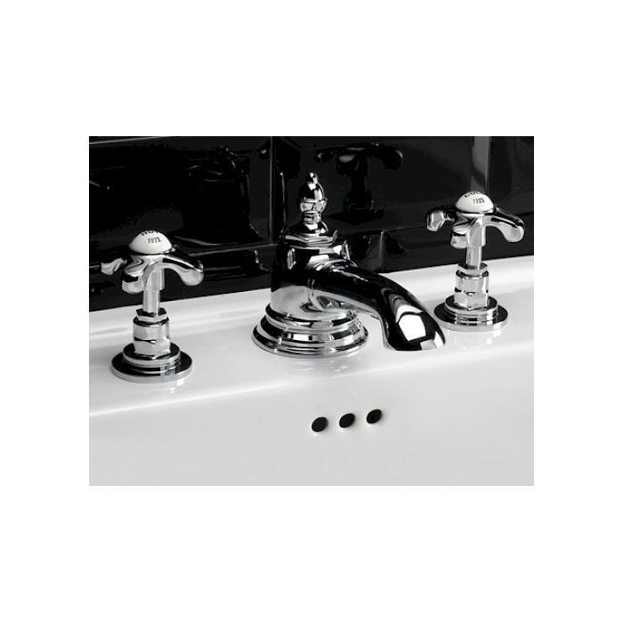 Фото сантехники Mayfair Смеситель для раковины с 3 отв.цвет хром