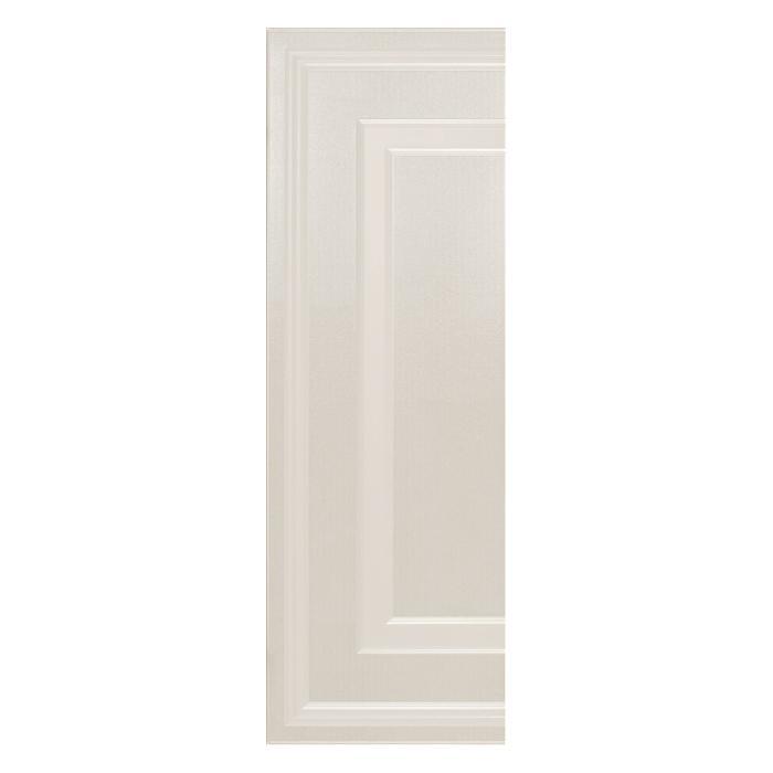 Текстура плитки Ermitage Angolo Boiserie Impero Bianco 25.5x78