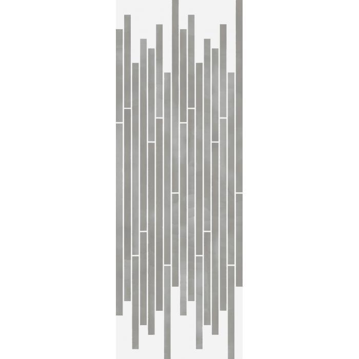 Текстура плитки Серфейс Диаманте Стрип Люкс Ретт. 26x75 (0,157м2)