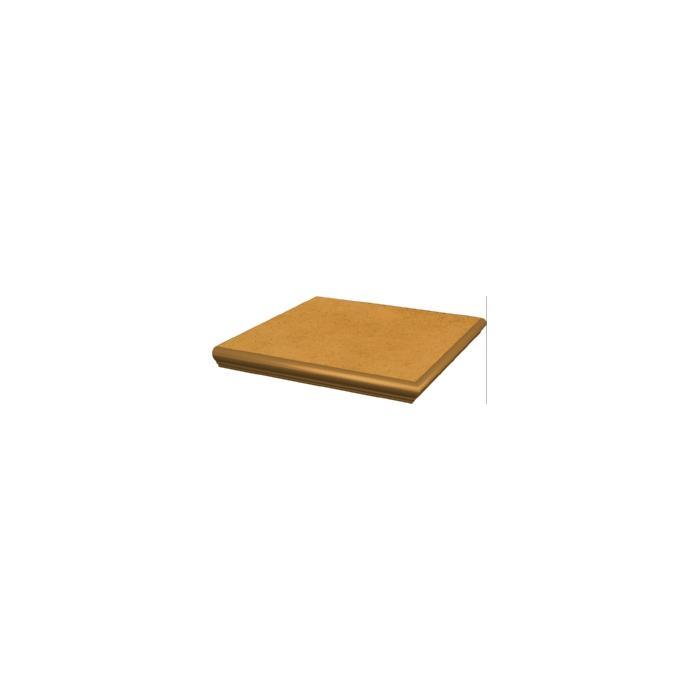Текстура плитки Aquarius Beige Stopnica Narozna z kapinosem 33x33